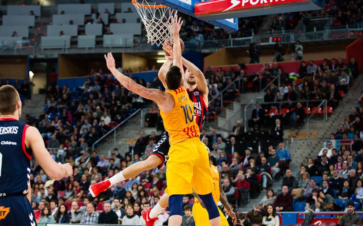 Baskonia v FC Barcelona Lassa: Immediate response with authority (84-92)