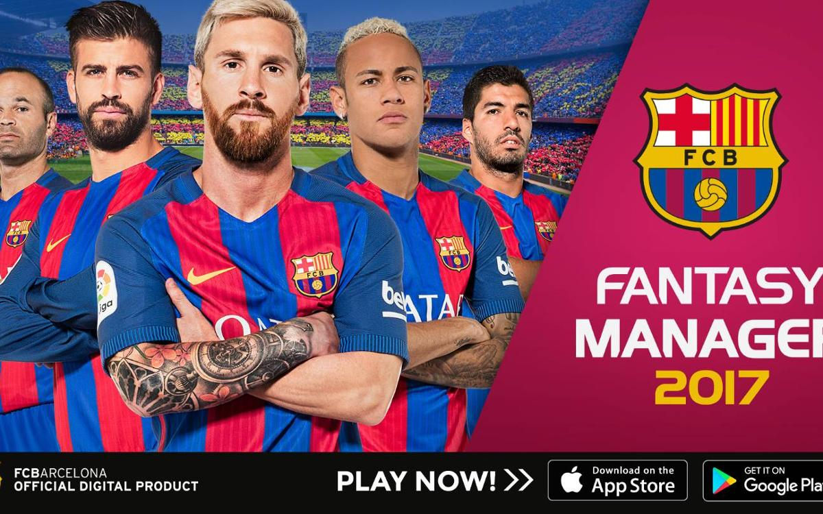 FCB Fantasy Manager, the new Barça app