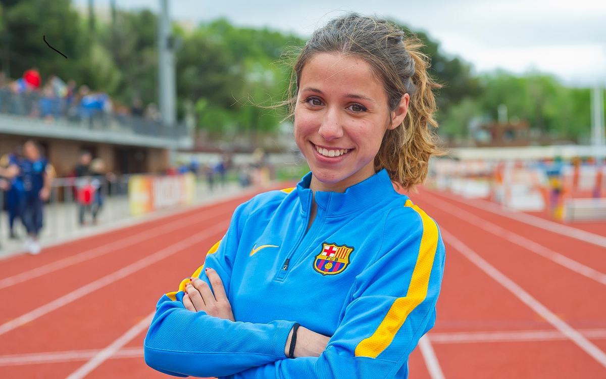 Cristina Lara, millor atletla promesa del 2016