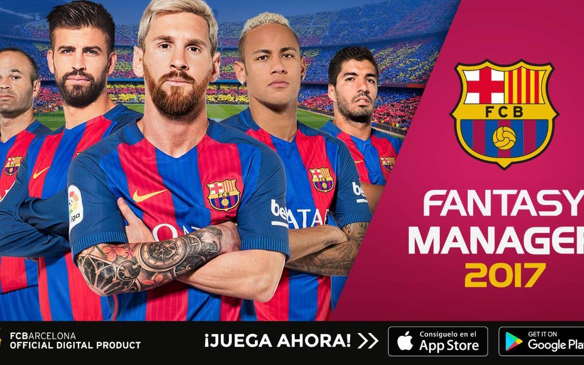 FCB Fantasy Manager, la nueva app del Barça