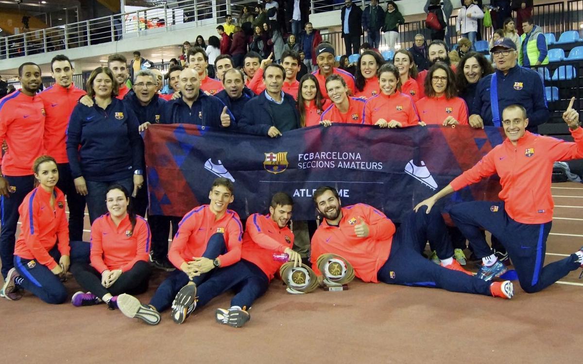 Campeones de la Copa del Rey y de la Reina de Atletismo
