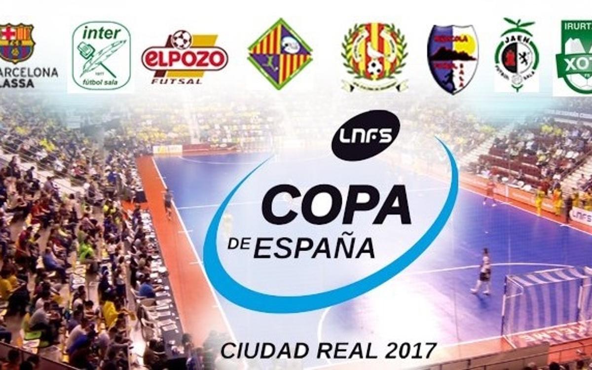 Ja es poden reservar entrades per a la Copa d'Espanya per mitjà del Club