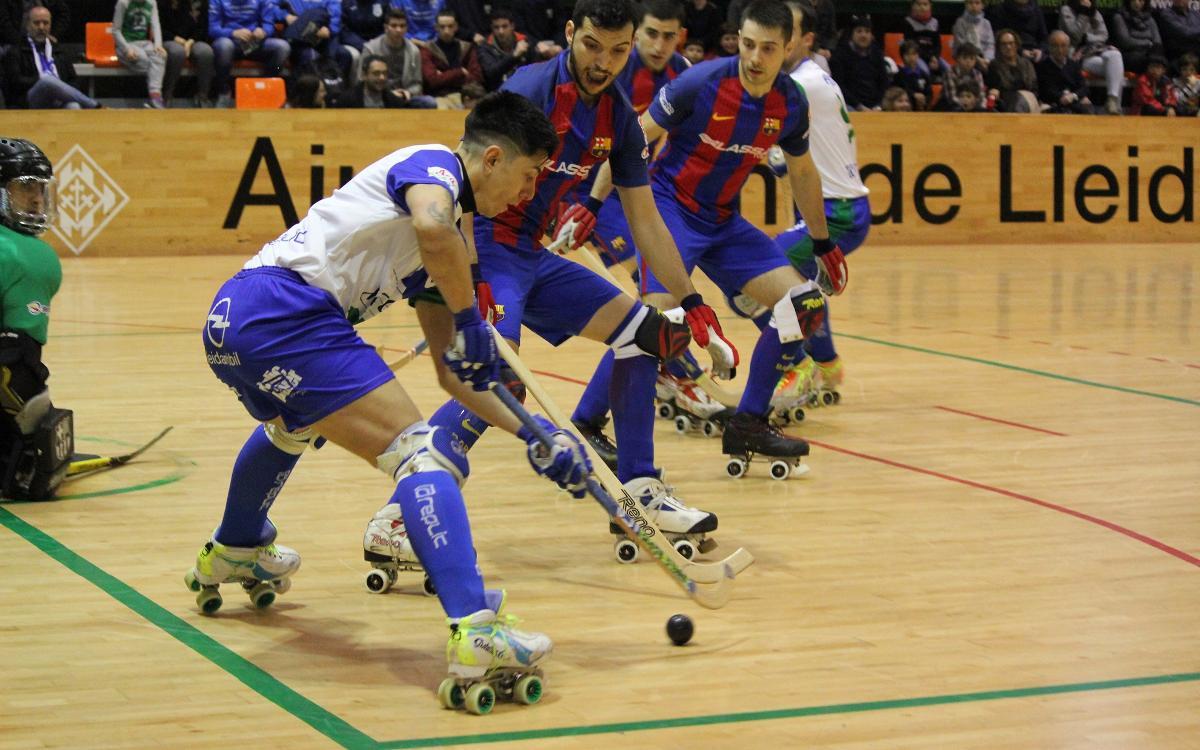 ICG Software Lleida – FC Barcelona Lassa: Continuen les bones sensacions (4-6)