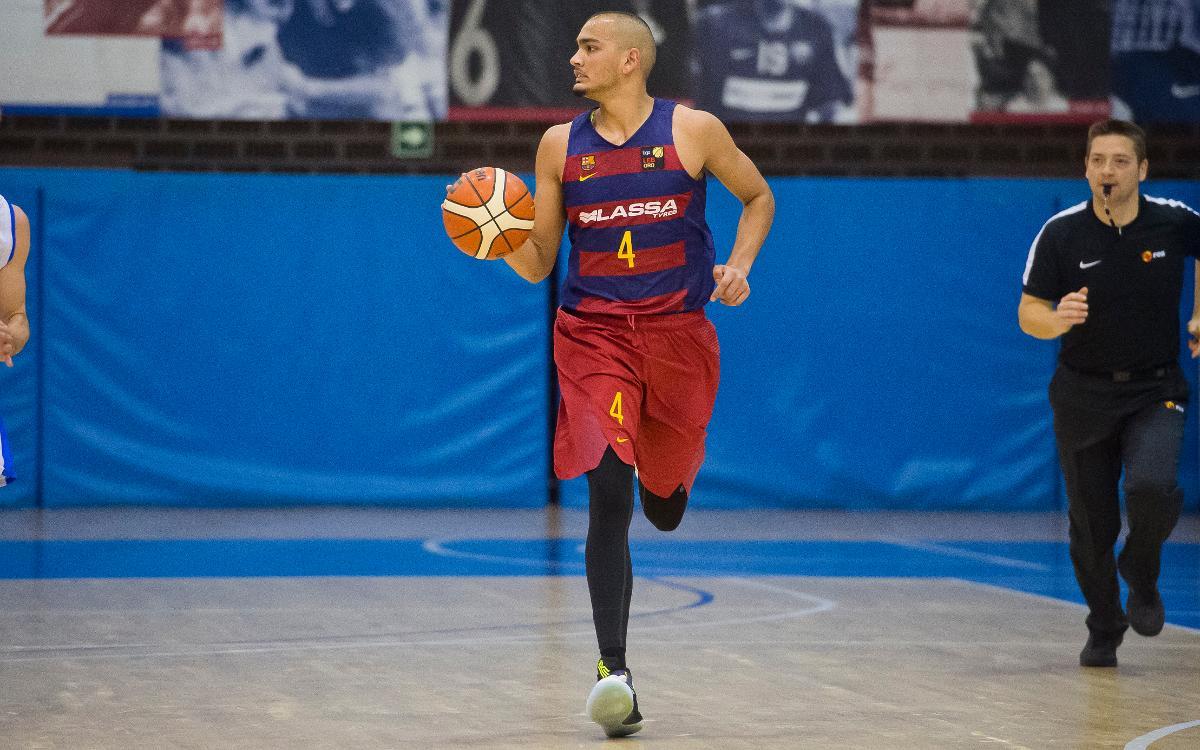 Barça Lassa B – Melilla Baloncesto: Se les escapa el triunfo por dos malos minutos (61-67)