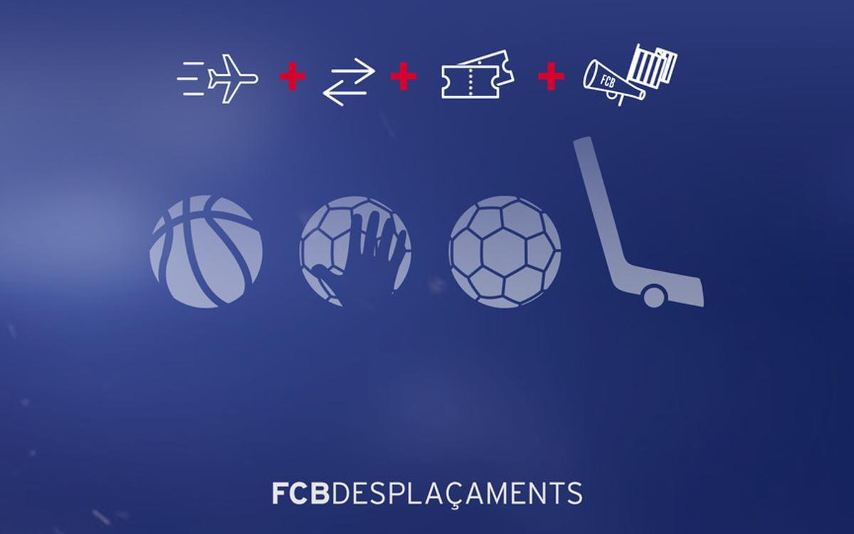 Viaja por Europa con los equipos de balonmano y baloncesto