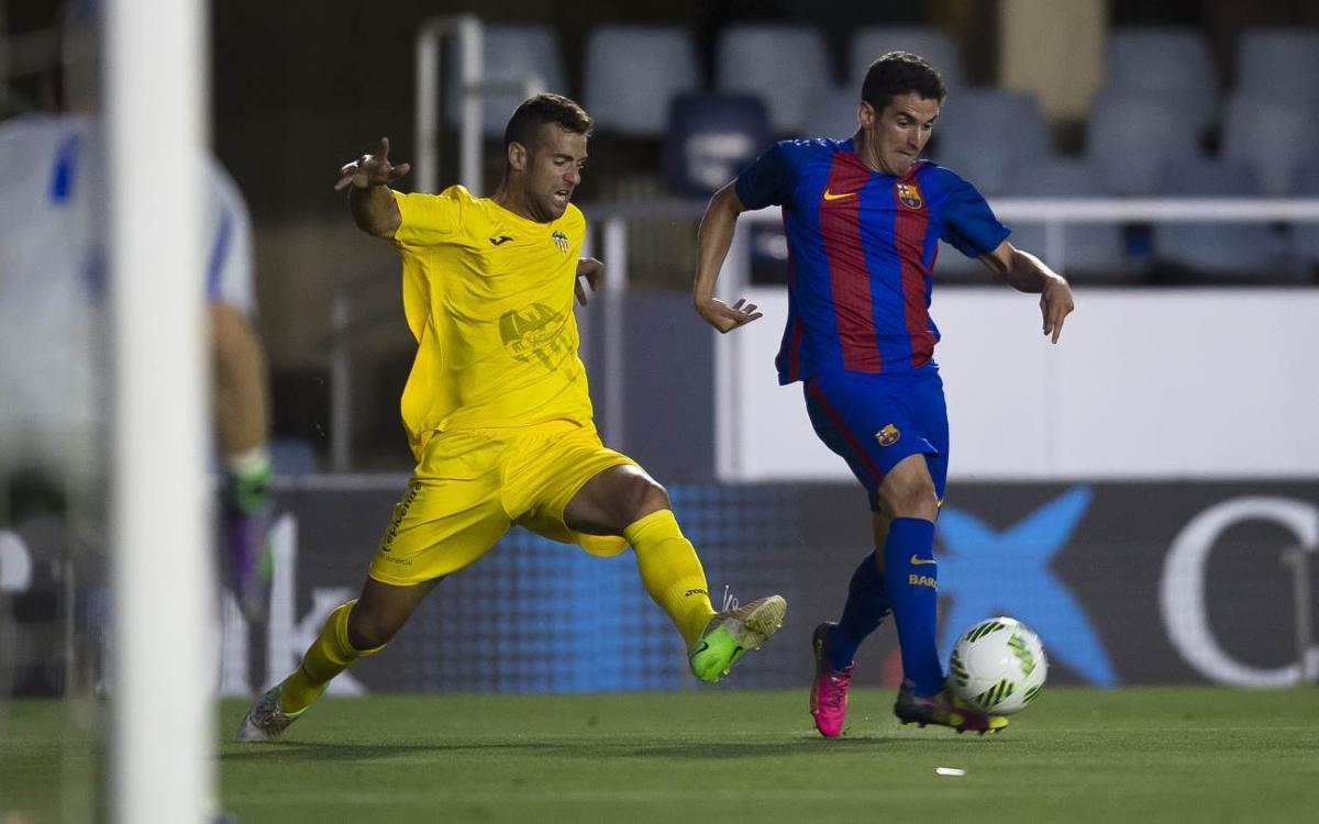 At. Saguntino – Barça B: Començar la segona volta amb bon peu