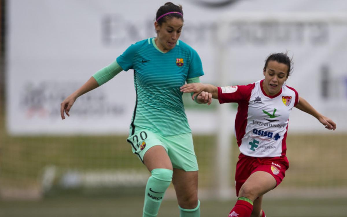 Santa Teresa CD – FC Barcelona Femení: Ensopegada a terres extremenyes (2-0)