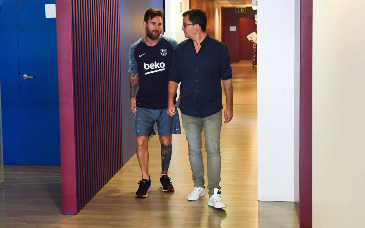 Messi, Busquets, Piqué and Alba return!
