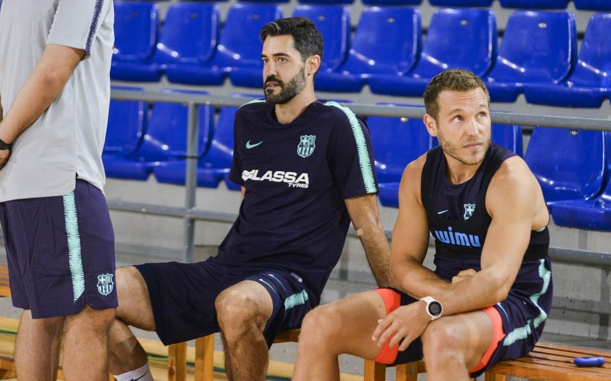 El Barça Lassa es posa en marxa al Palau Blaugrana