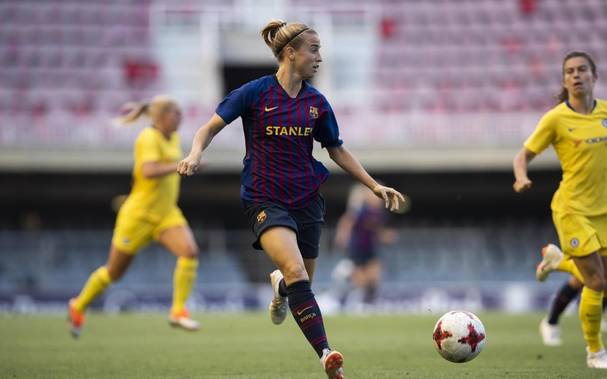 Barça Women v Chelsea: Tough test in friendly (1-1)