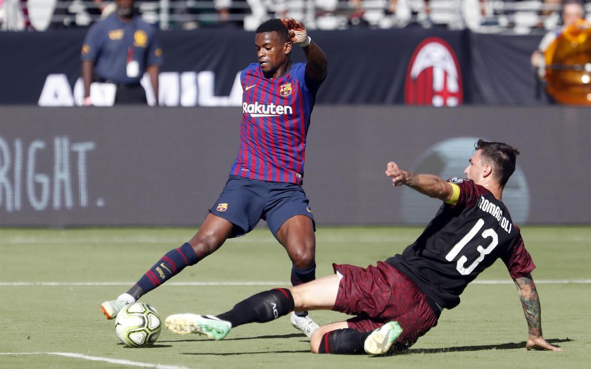 AC Milan - FC Barcelona: Bon Barça tot i la derrota final (1-0)