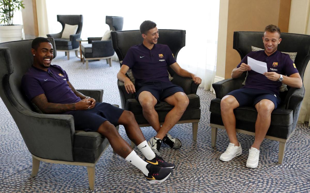Arthur, Lenglet and Malcom full of praise for Valverde