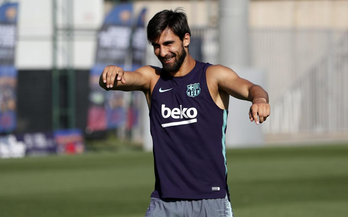 Agreement with Everton for the loan of André Gomes