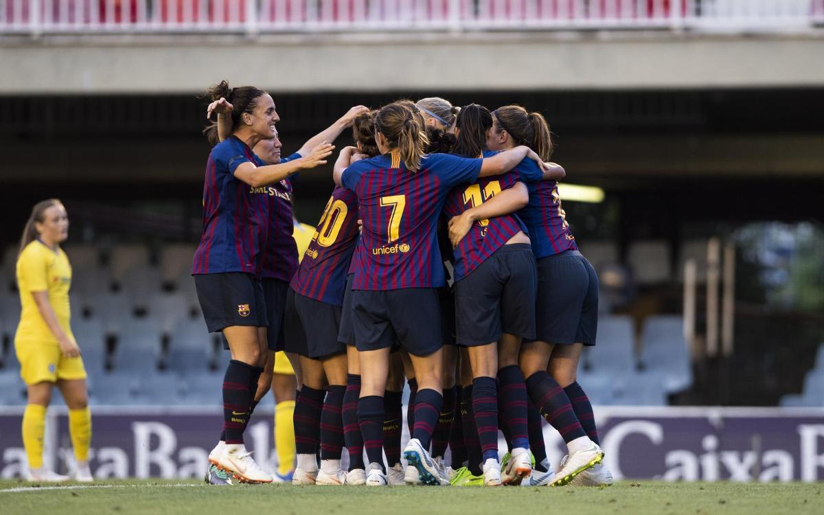 FC Barcelona Femení – BIIK Kazygurt (prèvia): L'hora del Miniestadi