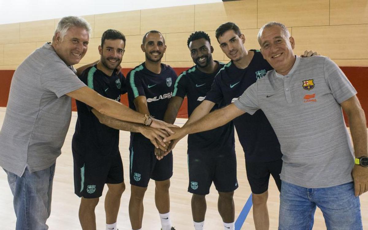 El Barça Lassa es posa en marxa amb 4 cares noves