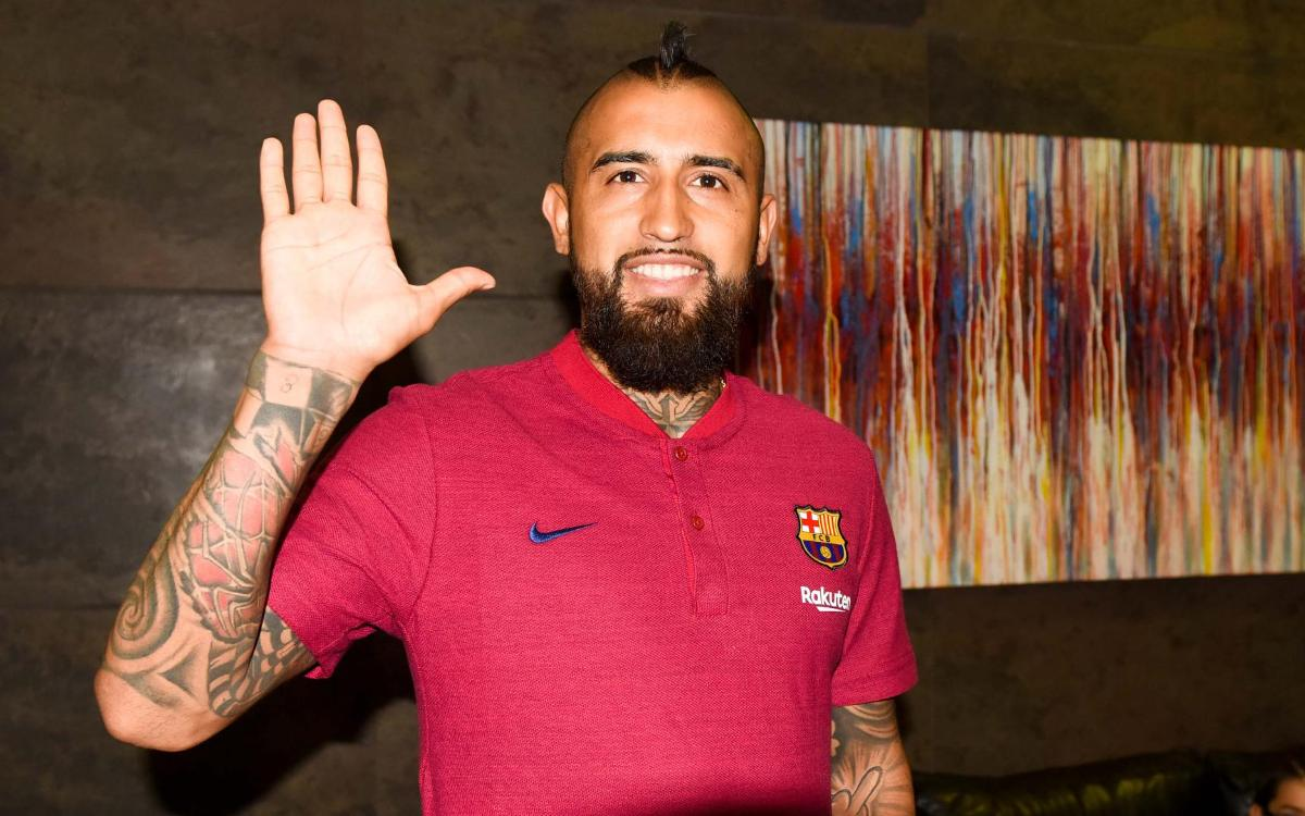 Timetable for Arturo Vidal's presentation