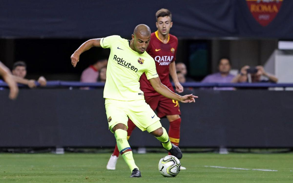 MATCH REPORT: Barça falls to AS Roma in Dallas, 4–2