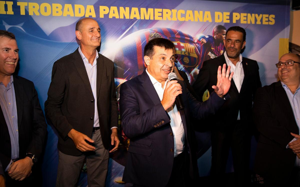 El II Encuentro Panamericano de Peñas reúne a más de 400 seguidores culés en Dallas