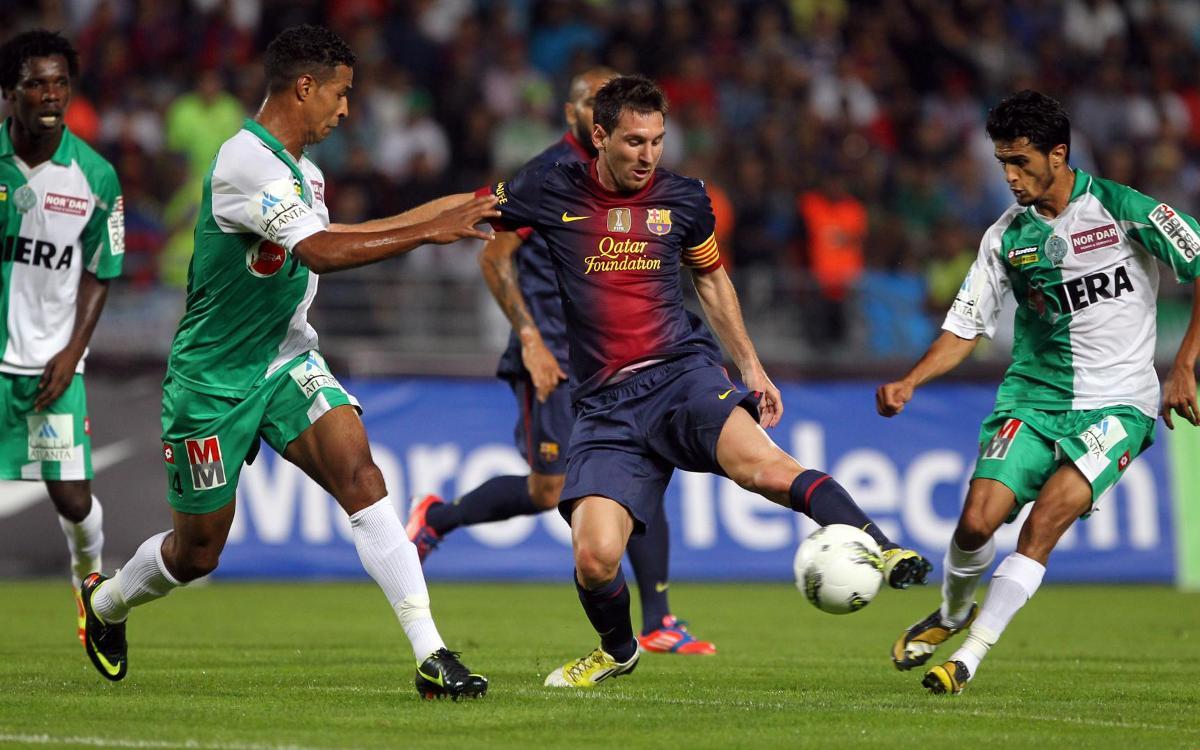 El dia que el Barça ja va jugar a Tànger