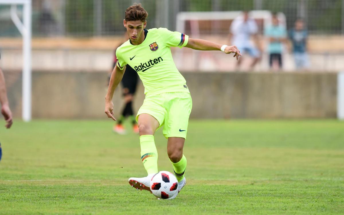 Acord amb el CF Peralada-Girona B per a la cessió de Santi Bueno