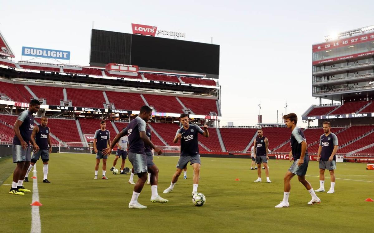 AC Milan – FC Barcelona: Examen final abans de la competició oficial