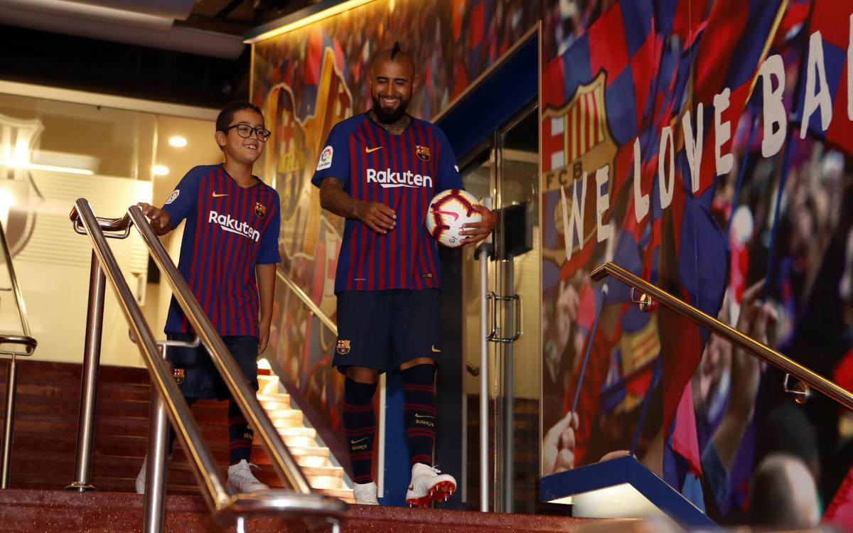 a1dae8718 Arturo Vidal s first 24 hours in Barcelona