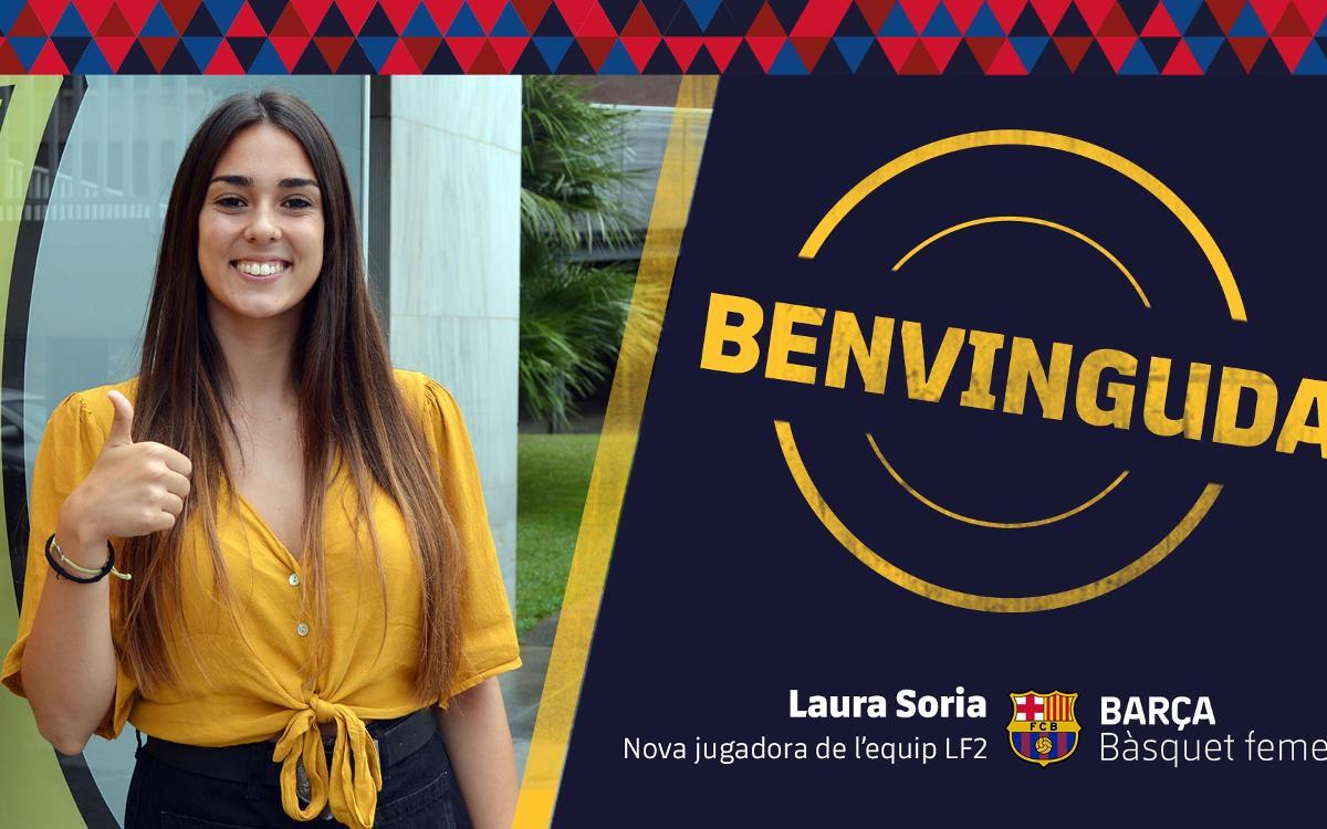 Laura Soria nova incorporació del bàsquet femení