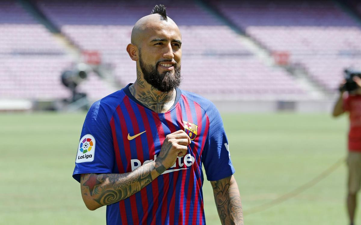 Arturo Vidal, an imposing presence in midfield