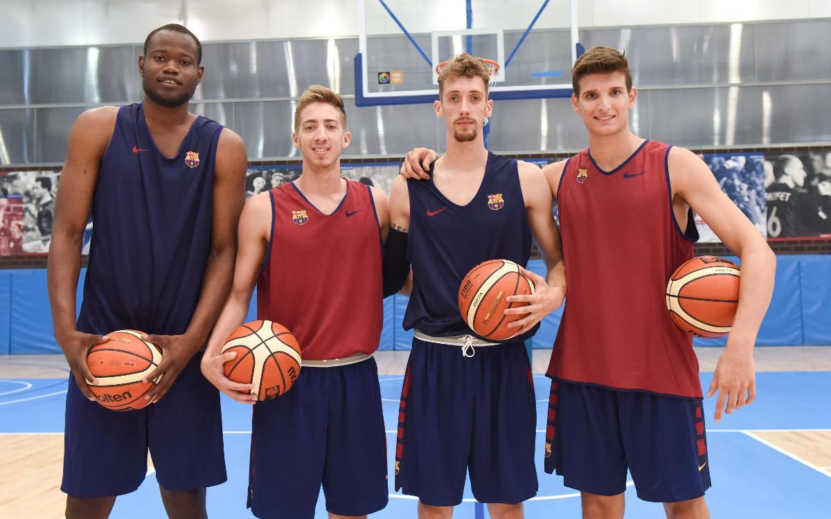 El Barça Lassa B ja treballa a la Ciutat Esportiva