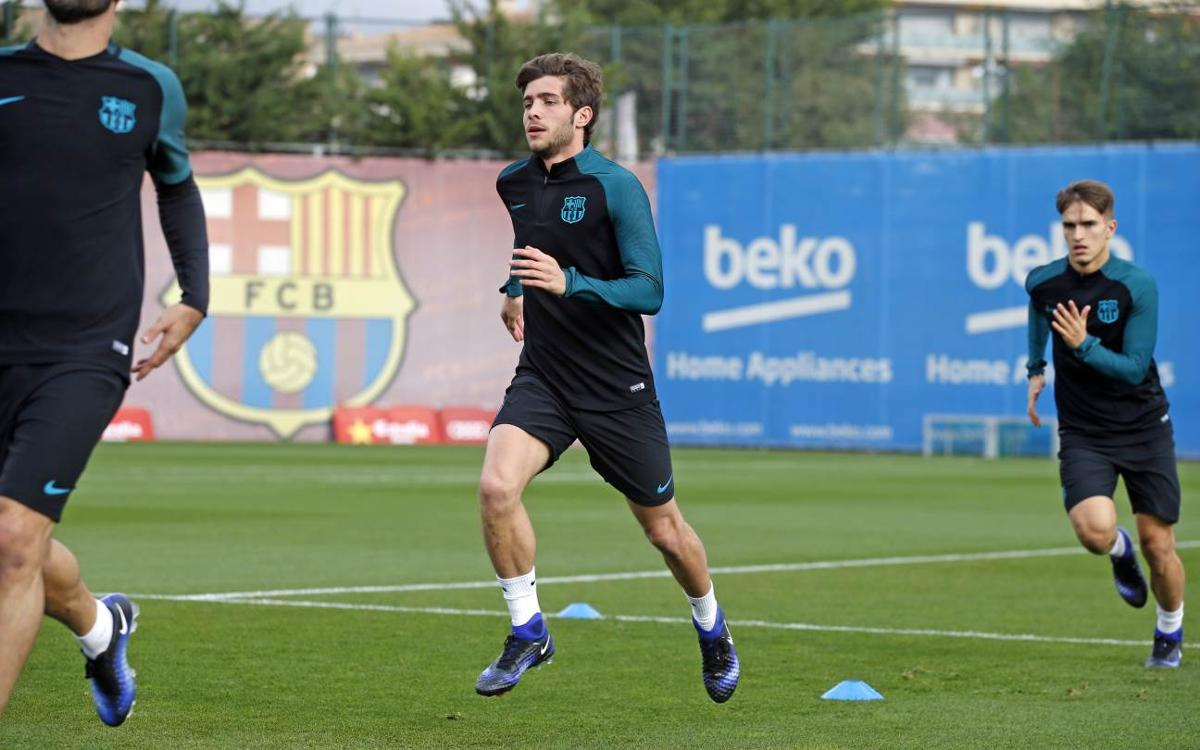 Sergi Roberto: Win on Tuesday will boost confidence in La Liga