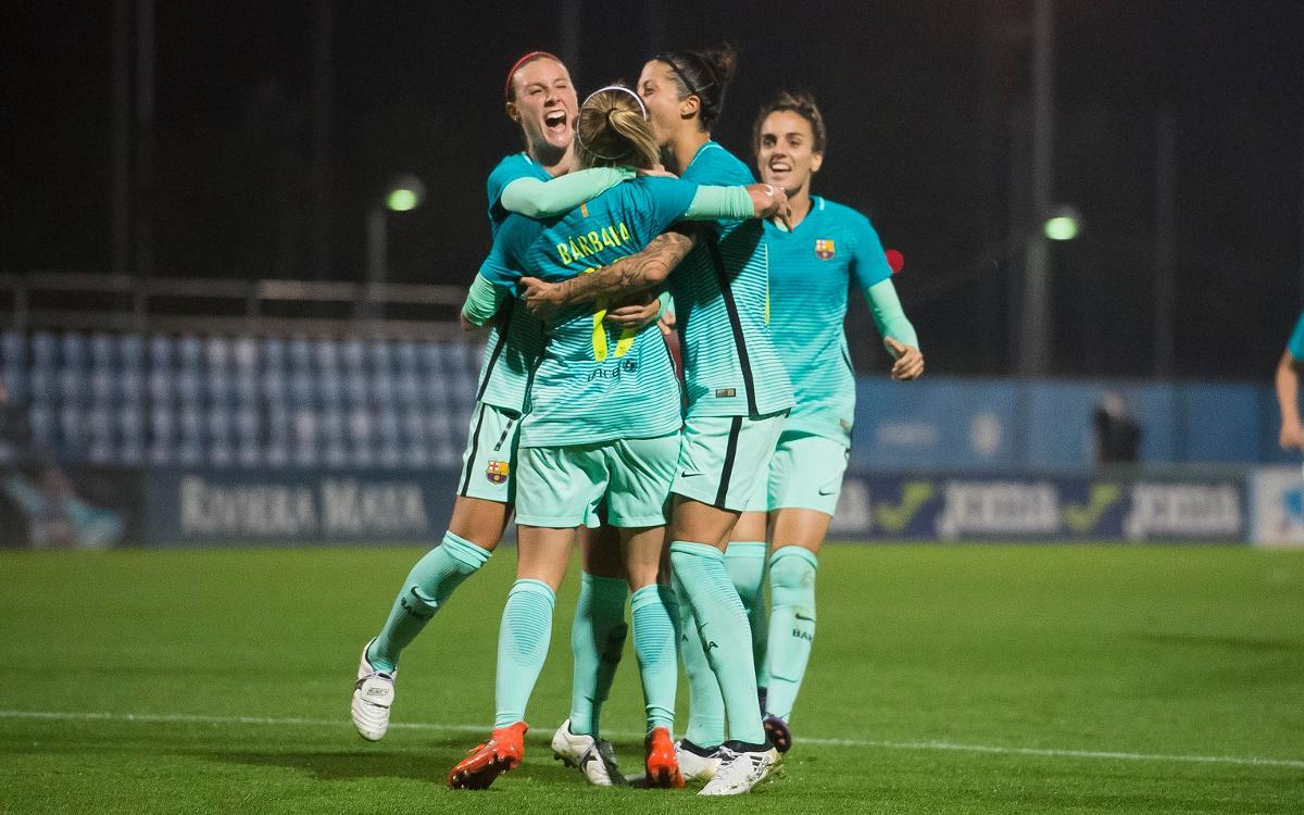 Els cinc gols de l'any del Barça Femení