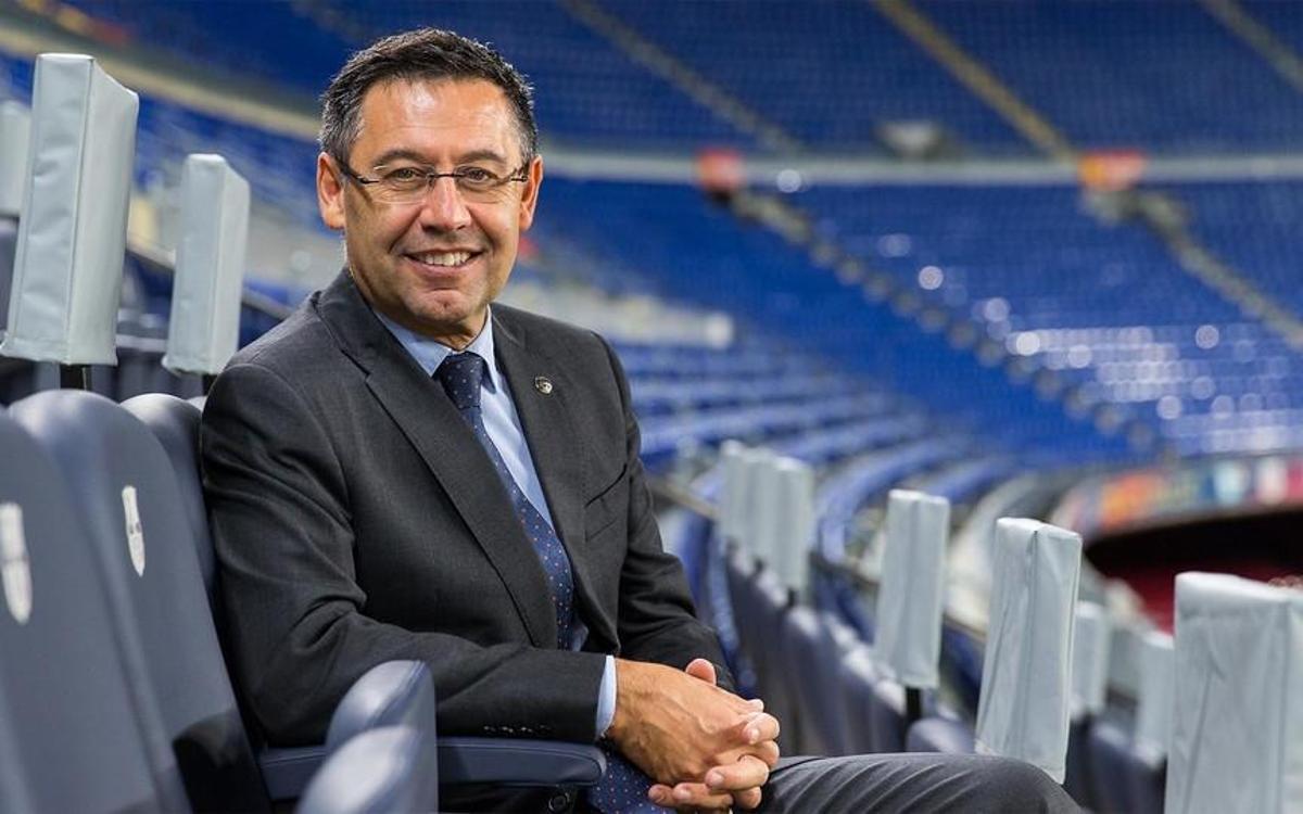 Josep Maria Bartomeu est le Président du FC Barcelone depuis 2014