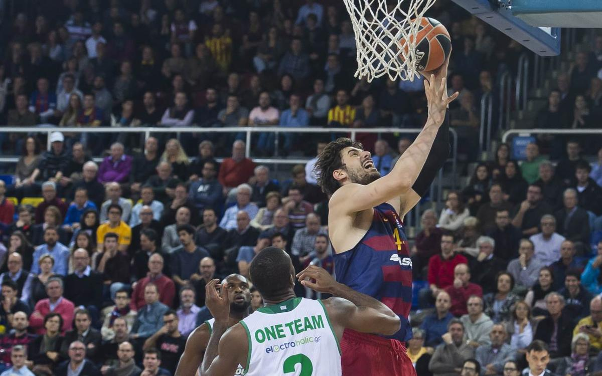 FC Barcelona Lassa 72-57 Panathinaikos: A very welcome win
