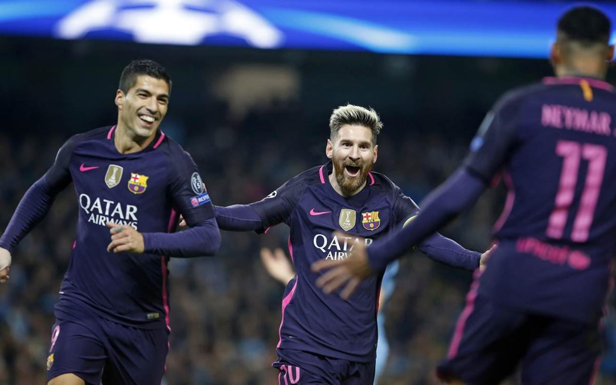 Ten top facts from FC Barcelona's Champions League group stage