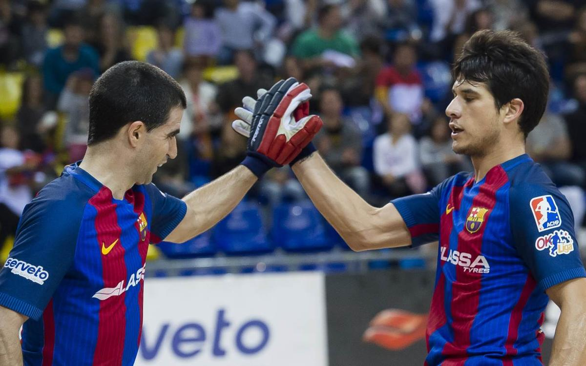 Enrile PAS Alcoy 1-4 FC Barcelona Lassa: The wins keep coming