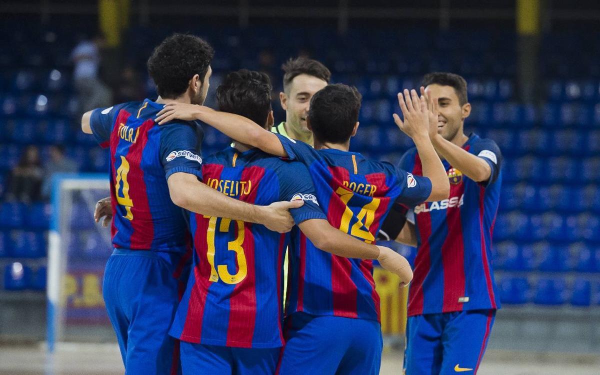 FC Barcelona Lassa 7-1 Aspil-Vidal Ribera Navarra: Back to winning ways in style