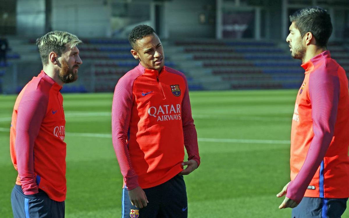 FC Barcelona make final preparations for Liga restart