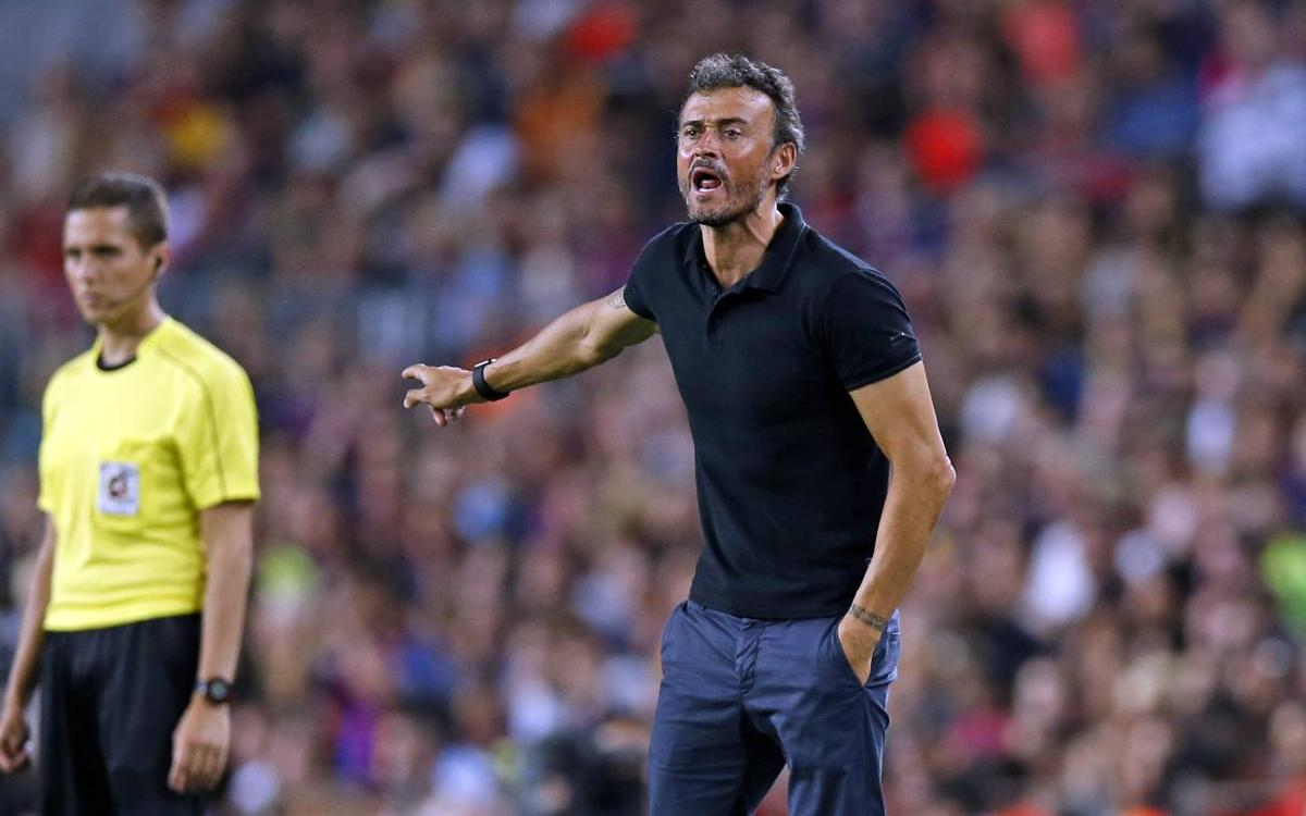 'Great win against a great opponent' says Luis Enrique