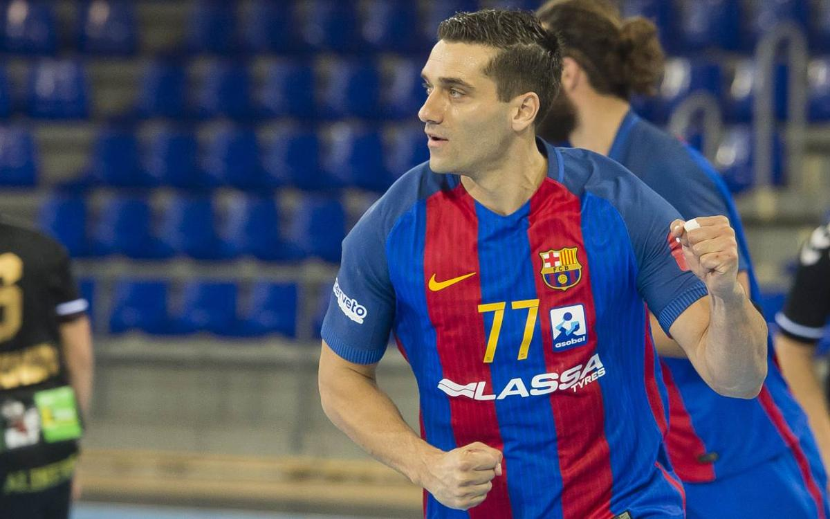 Bidasoa Irun – FC Barcelona Lassa: Patience brings another landmark (26-35)