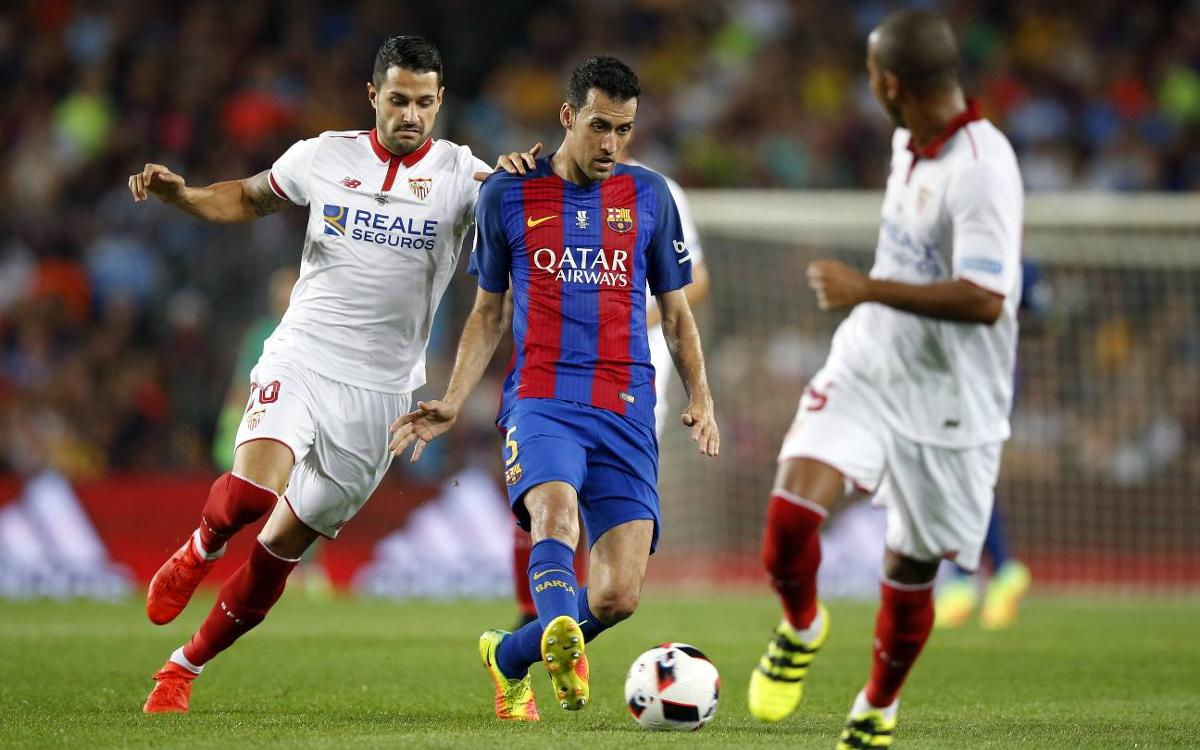 FC Barcelona were 'fair winners' claims Sergio Busquets