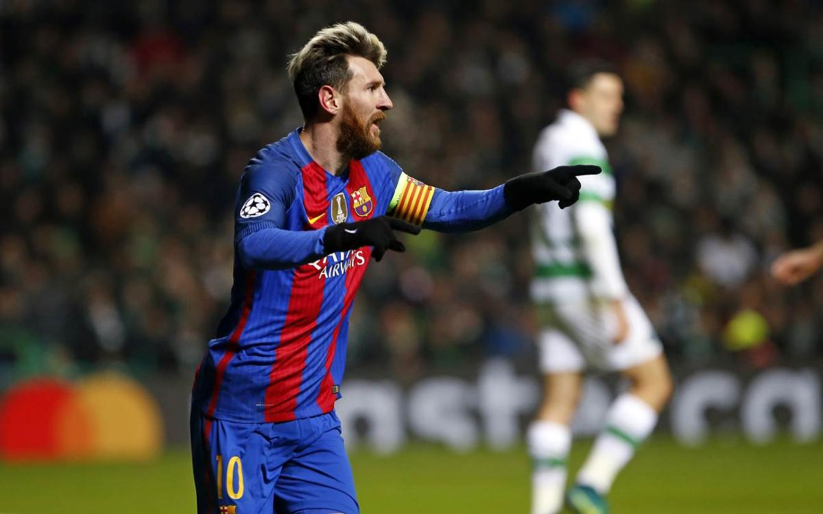 Celtic FC – FC Barcelona: Classificació i primers! (0-2)