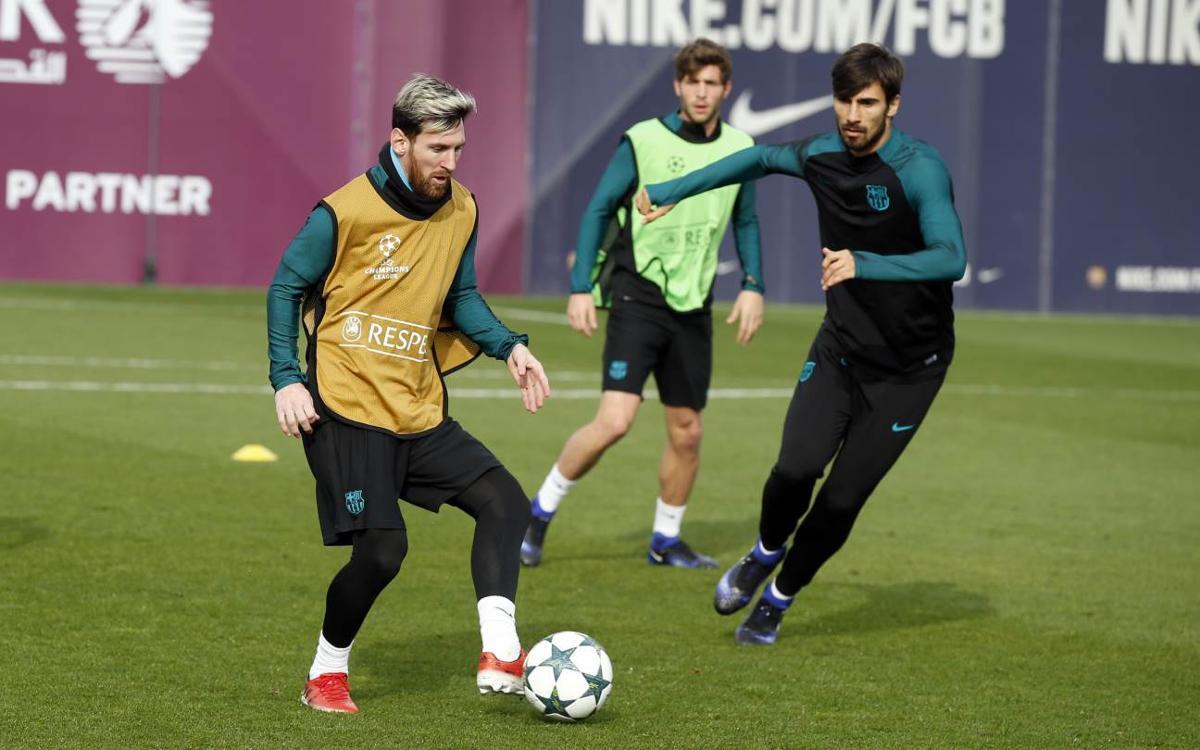Todo listo para recibir al Borussia Mönchengladbach