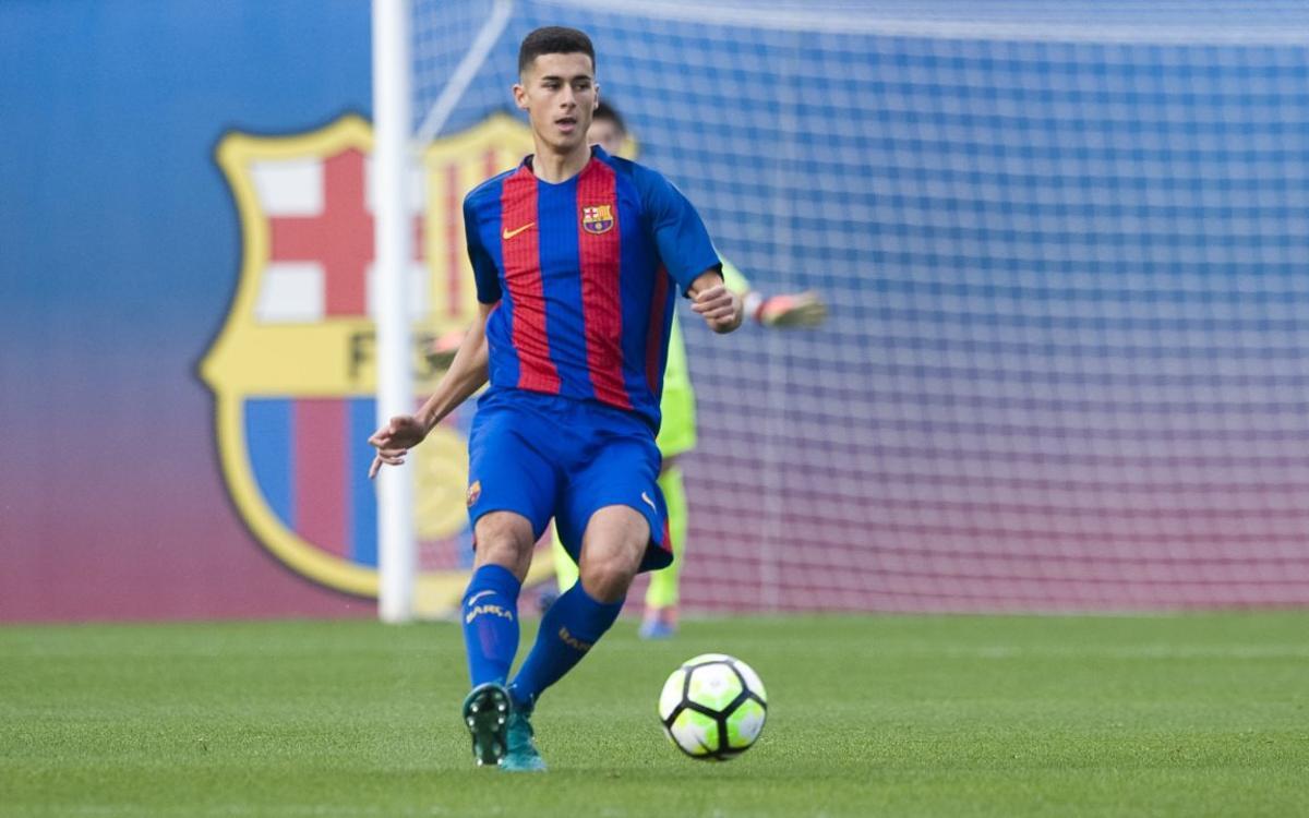 Vuit juvenils del Barça amb compromisos de seleccions