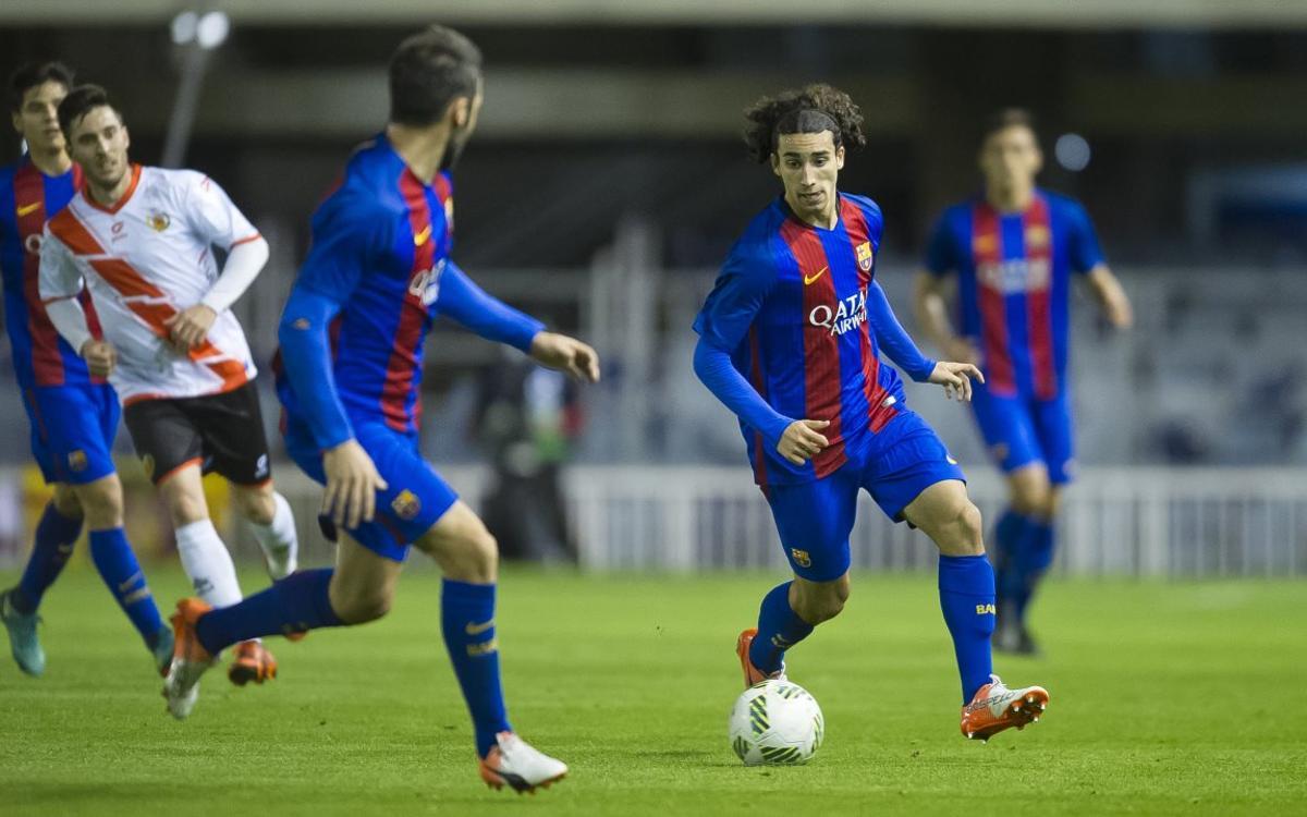 Marc Cucurella, el desè juvenil a debutar amb Gerard López
