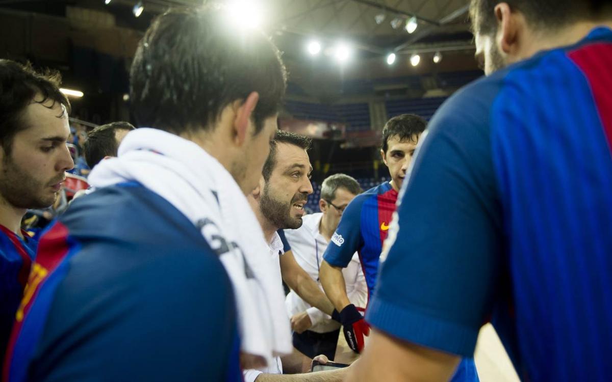 """Ricard Muñoz: """"El Mérignac és un equip molt treballat i la seva pista és poc habitual"""""""