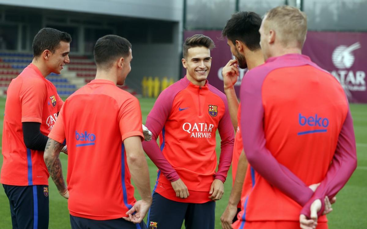 Els 18 convocats per a la Supercopa de Catalunya