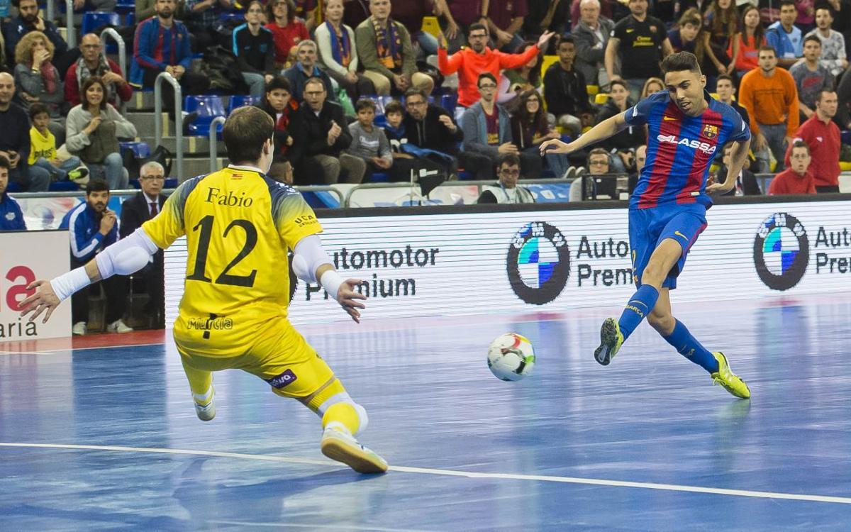 FC Barcelona Lassa 2-3 ElPozo Múrcia: It ends in despair
