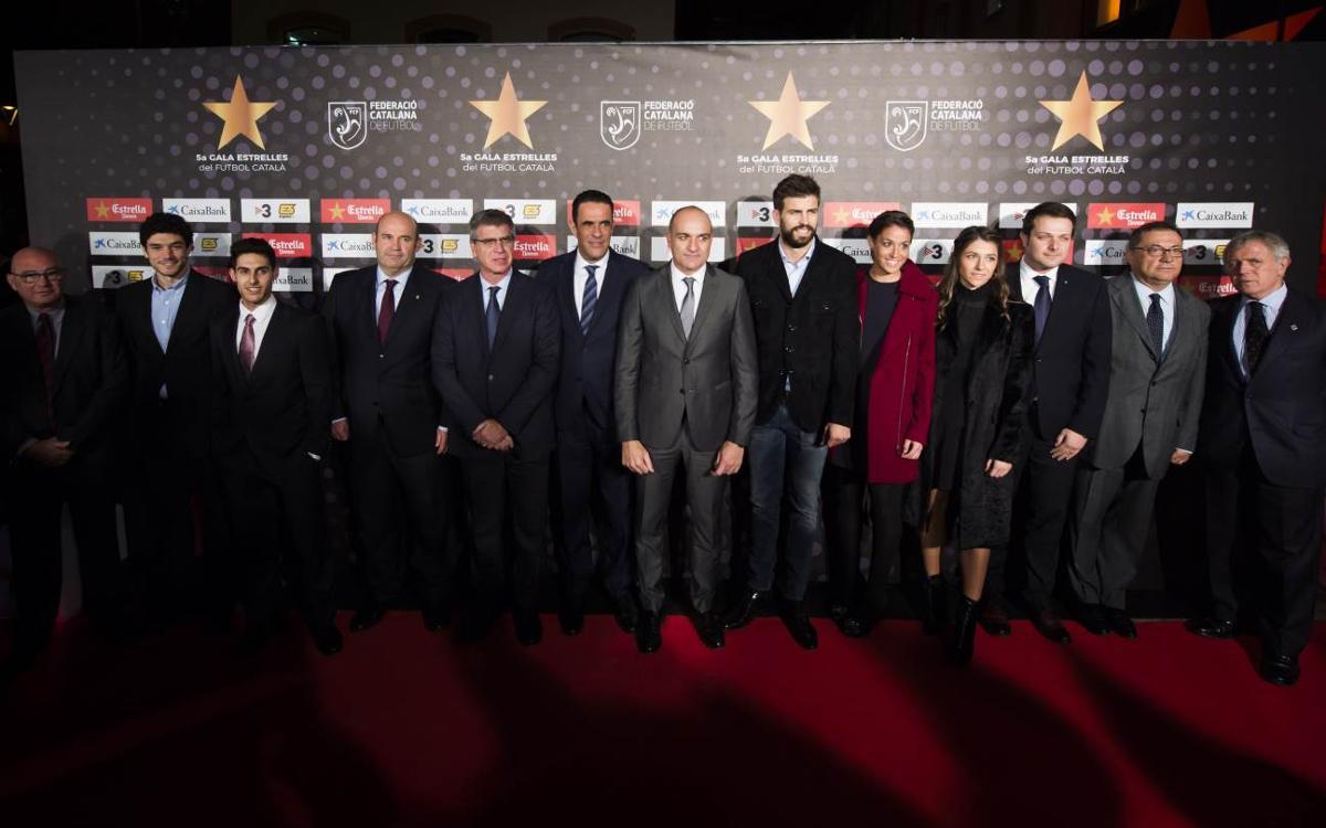 El Barça, protagonista de la 5a Gala de les Estrelles del Futbol Català