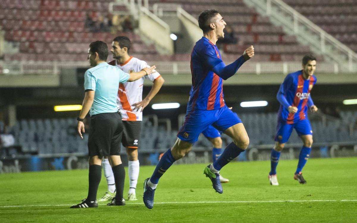 Marcar un gol es algo nuevo para Borja López