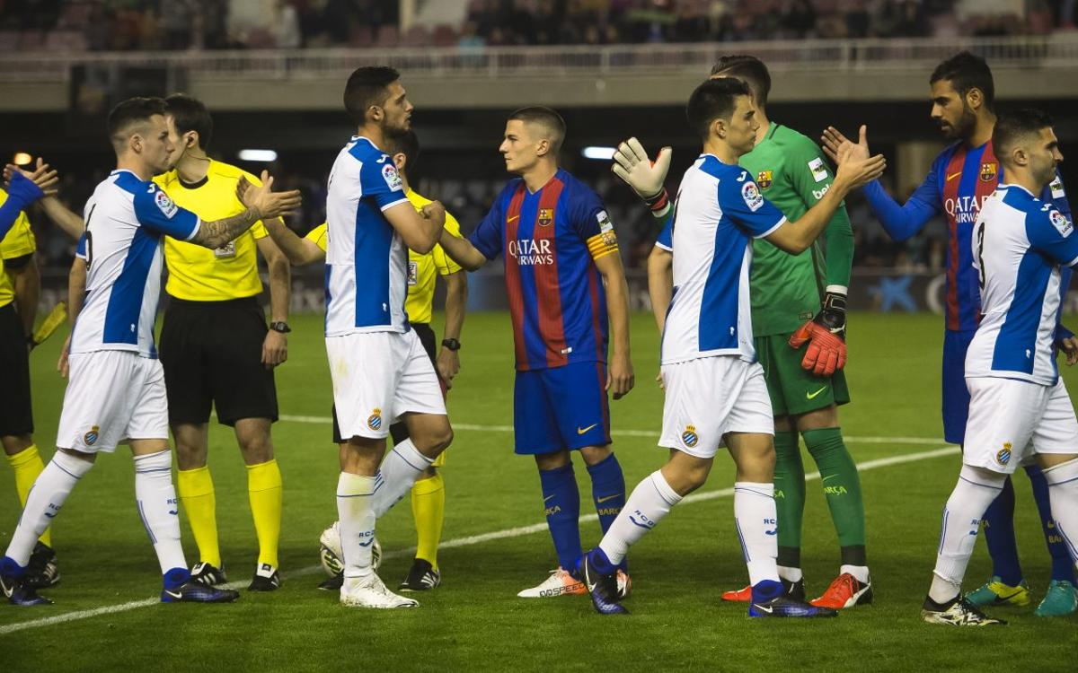Inside view: The Barcelona derby between the reserve teams